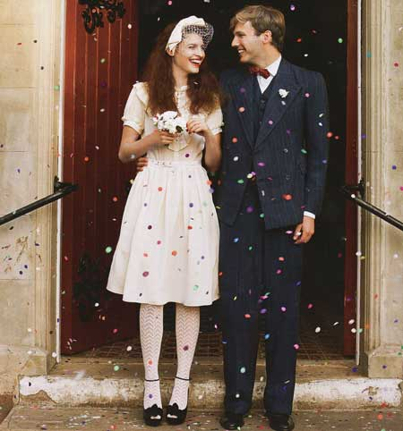 1940 s war wedding here comes the bride covelli for 40 style wedding dresses